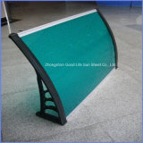 70X120cm Green White Blue Red Black Polycarbonate Door Canopy