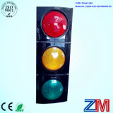 High Brightness 300mm LED Flashing Traffic Light / Traffic Signal for Driveway Safety