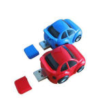 Plastic Super Mini Car USB Key Flash Memory Stick