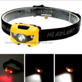 1W Rechargeable Mini LED Headlight with Logo Printed (4000)