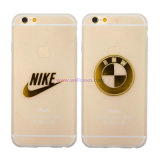 Customized Brand/Logo Transparent Mobile/Cell Phone Accessories Cover/Case for iPhone 5/6/6 Plus