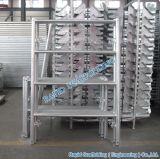 HDG Q235 Steel Ladder Frame System Scaffolding