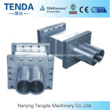 Twin Screw Extruder Stainless Steel Barrel