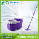 Plastic Metal Cleaning Bucket Small Double Mop with Wringer