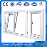 Rocky 3 Panel Triple PVC Casement Window