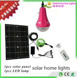 Portable Solar Bulb Solar Home Lighting System Kit with USB Phone Charger Fuction
