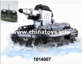Remote Control Toy Amphibious R/C Tank Car (1014007)