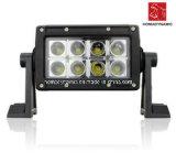 LED Car Light of LED Light Bar 24W IP68 Waterproof for SUV Car LED off Road Light and LED Driving Light