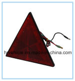 Triangle LED Combination Lamp with Reflector