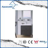 Black Bathroom Vanity with White Ceramic Vanity Top (ACF8934)