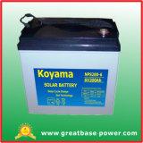6V Solar Power System Deep Cycle Gel Battery 200ah
