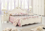 European Design Antique Bedroom Bed King Size Round Bed