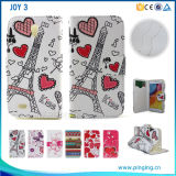 Colors Printed Flip Leather Phone Case for Oppo Joy 3 Neo 7 5s R7s