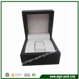 Promotional Customized Black Wooden Watch Box