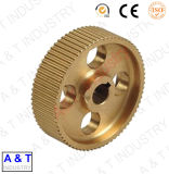 Small Spur Copper Gear Turning CNC Machining Machinery Spare Parts