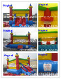 Kids Fun Moonwalk Inflatable Bouncy Castle with Slide (MJE-053)