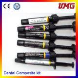 Dental Filling Material Dental Composite Kit with 6 Color Set