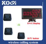 Wireless Calling System with Display Receiver Button Caller for Elderly Waiter Bartender