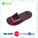 Men′s Slippers with EVA Sole and PVC Upper