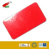 High Gloss Powder Coating with Cherry Red Color