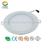 Fatory Price IP44 Ultra-Thin Recessed Round LED Panel Light 225mm