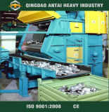 Apron Shot Blasting Machine with Auto Rubber Belt