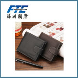 Leather Business Men Wallet with Customized Logo