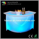 High Quality PE LED Glowing Round Bar Counter