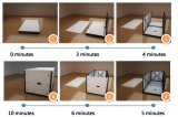 Container House/Portable Storage/Revolutionary Portable Folding Storage (CH-108)
