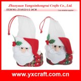 Christmas Decoration (ZY14Y23-1-2) Santa Boots Custom Design Sock Holder