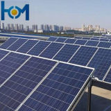 230W Arc Solar Glass for PV Module with Low Iron