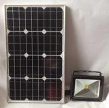 50W Solar LED Flood Light with Optical Sensor