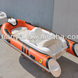 Liya Small PVC Inflatable Boat with Motor for Sale