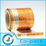 PVC Pet VMPET Wax Paper Packaging Film for Candy/Sweets/Chewing Gum/Chocolate Packing