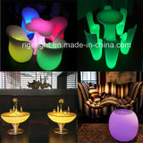 Remote Control Battery Powered Rechargeable Color Changing Illuminating LED Table Chair Furniture