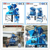 Fully Automatic and Basic Automatic Concrete Block Machine (JS500 mixer)