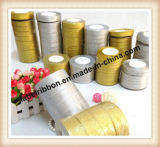 High Quality Christmas Polyester Satin Ribbon (GS100)