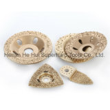 Vacuum Brazing Hard Alloy Cup Wheel for Concrete