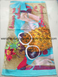 Microfiber Printed Cleaning Beach/Sport/Camping Towel