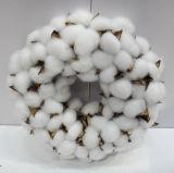 D30cm Wholesale Handmade Cotton Wreath Christmas Decoration Craft