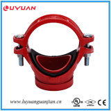Fire Pipe Fittings Ductile Iron Grooved Mechanical Tee FM/UL Approved