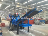 China Manufacturer Supplies Mobile Jaw Crushing Station