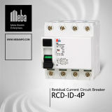 Meba Earth Leakage Circuit Breakers / RCCB (MBEFI-4)