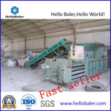 Horizontal Hydraulic Press Baler for Plastic Pet Bottle