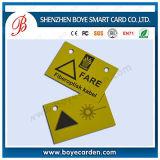 Irregular-Shape PVC Plastic Hole Punched Cards