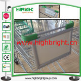 Supermarket Cart Advertising Front Board with Printing