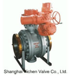 Electric Cast Trunnion Mounted Ball Valve (Q947)