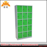 15 Doors Steel Furniture Metal Gym Yoga Wardrobe Cabinet