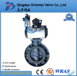 Pneumatic Diaphragm Butterfly Valve with Pneumatic or Electric Actuator