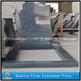 European Style G654 Grey Cheap Granite Stone Tombstones